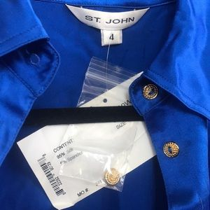 St. John Silk Shirt